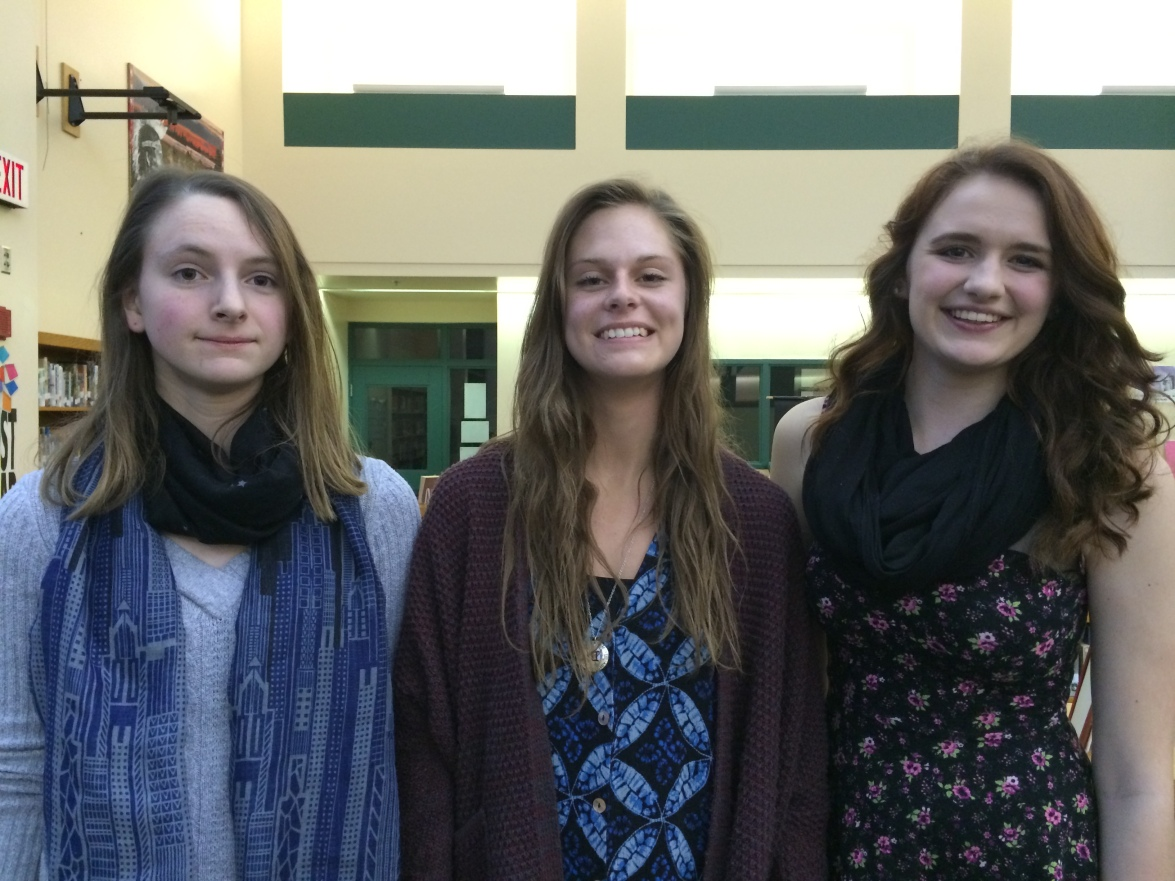 Interpretive Winners (L-R: Danielle, Alyssa, Taylor)