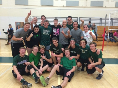 Powderpuff Volleyball Champs 2014