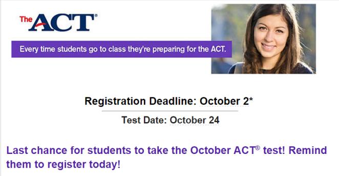 Register ACT