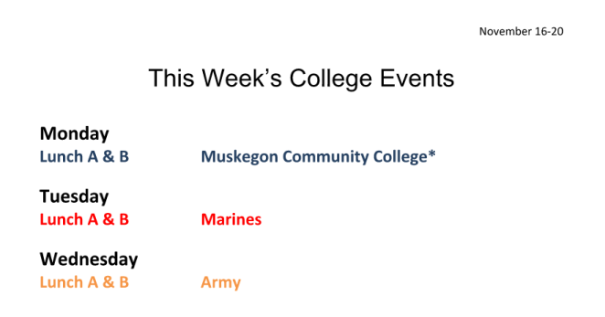 Colleges and Military on Campus