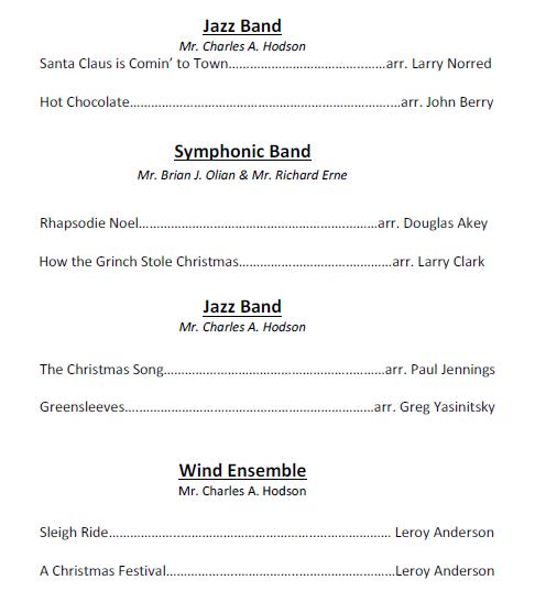 Holiday Band
